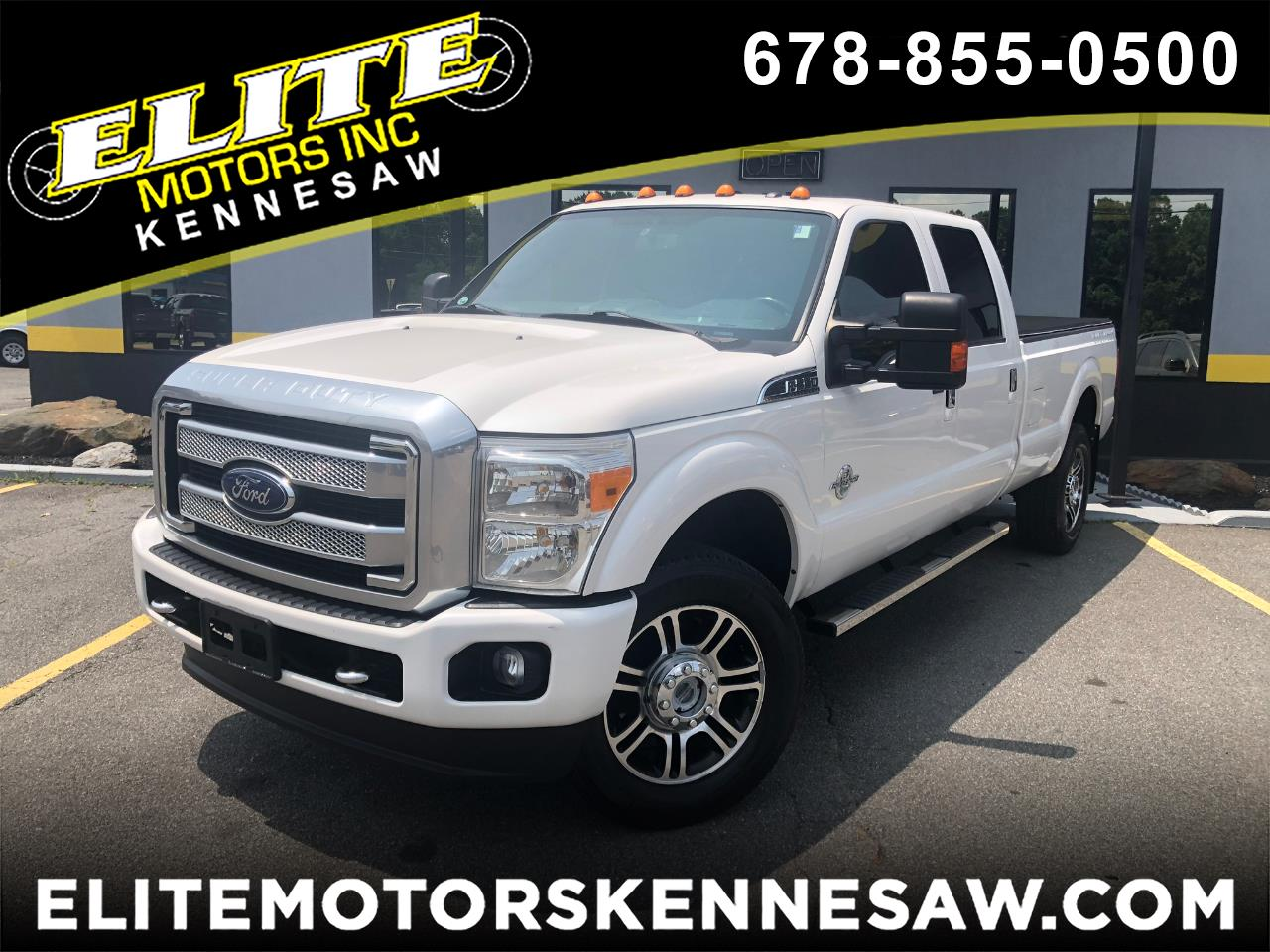 2014 Ford F-350 SD Lariat crew cab Long Bed 4WD Platinum
