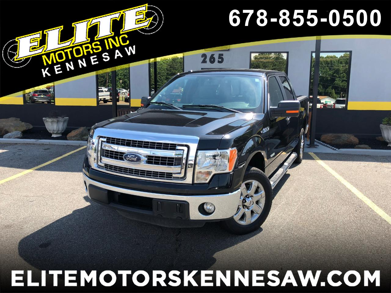 2013 Ford F-150 XLT SuperCrew 5.5-ft. Bed 2WD