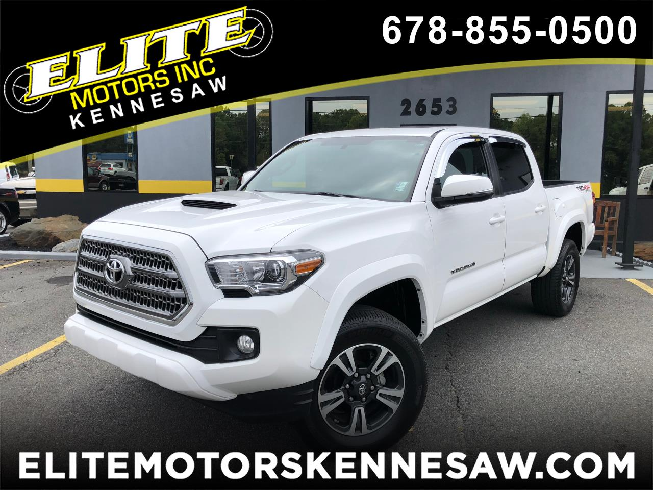2017 Toyota Tacoma TRD Sport Double Cab V6 6-Speed Manual 4WD