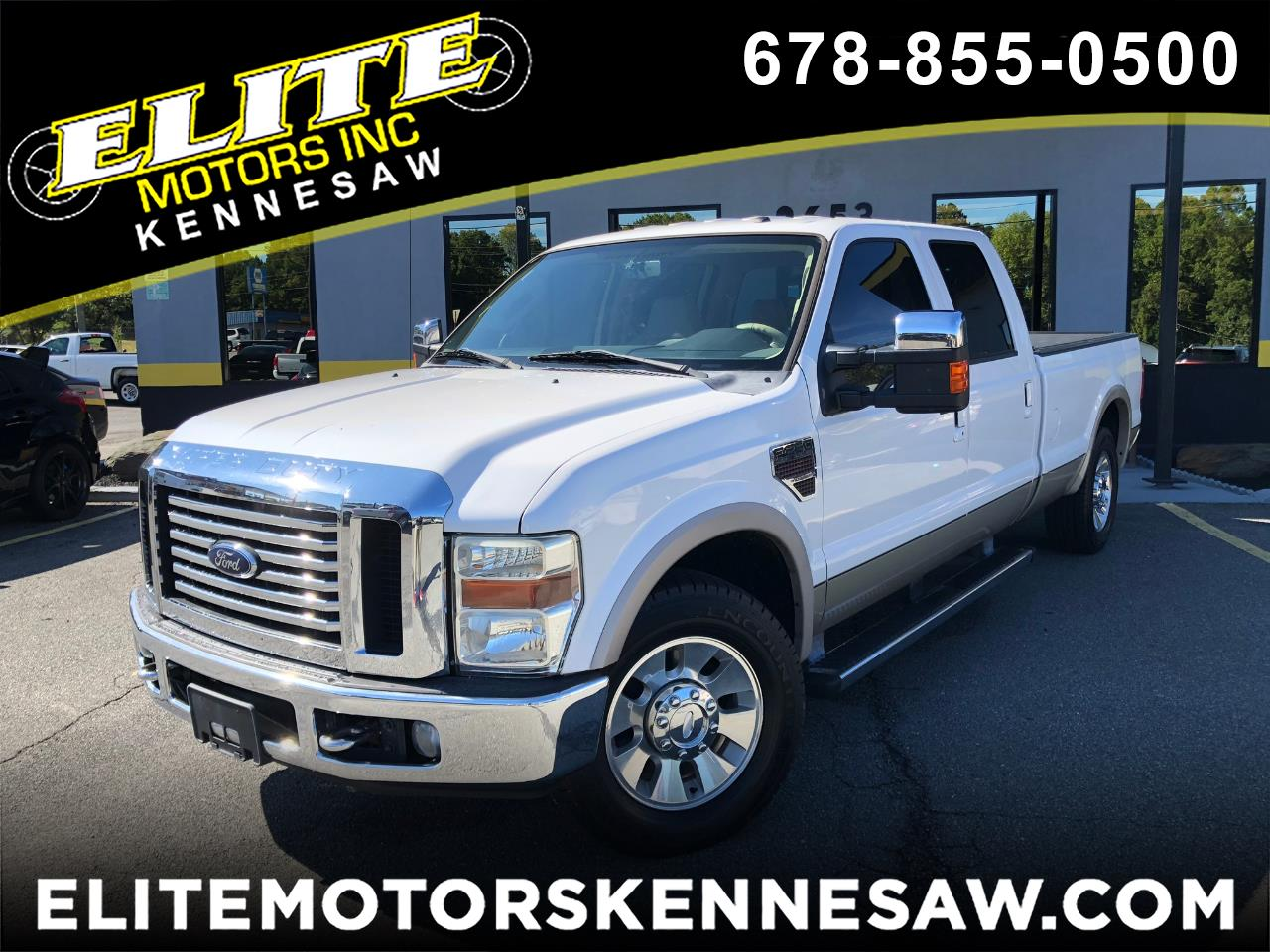 2010 Ford F-250 SD Lariat Crew Cab Long Bed 2WD