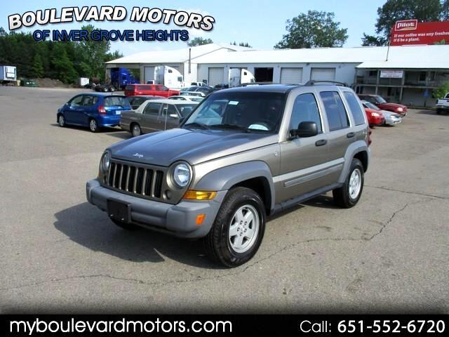 2005 Jeep Liberty Sport 4WD CRD Diesel