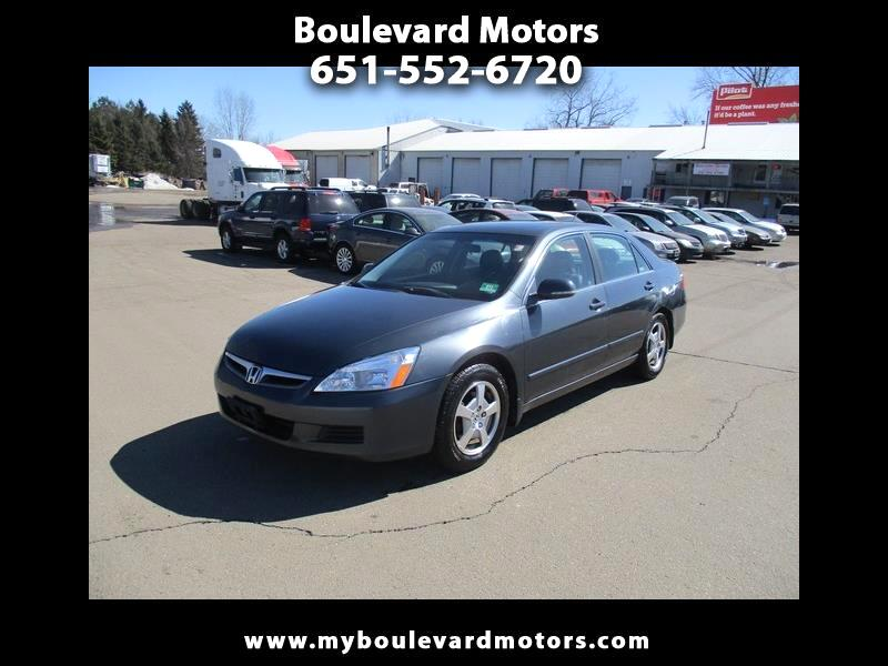 2007 Honda Accord Hybrid 5-Speed AT