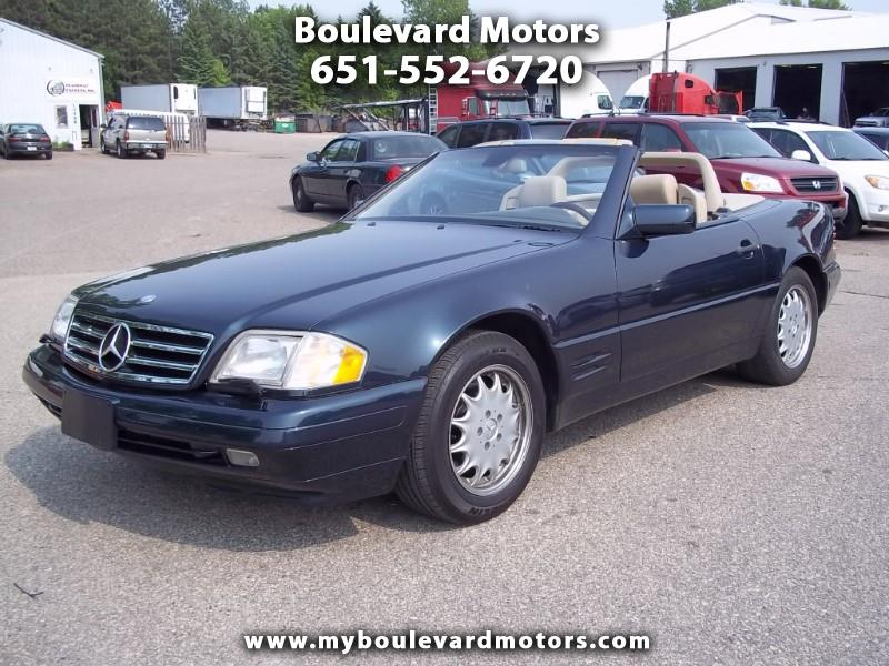 1997 Mercedes-Benz SL-Class SL500 40th Anniv. Roadster