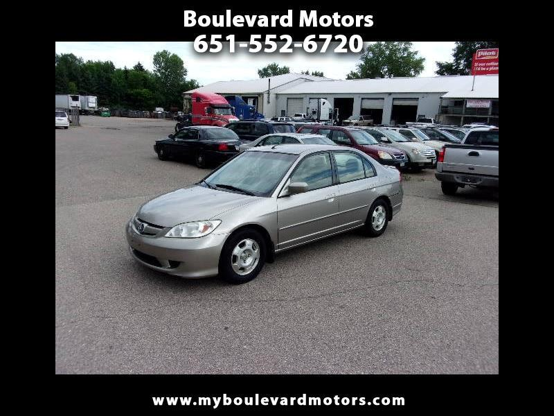 2005 Honda Civic Hybrid Sedan