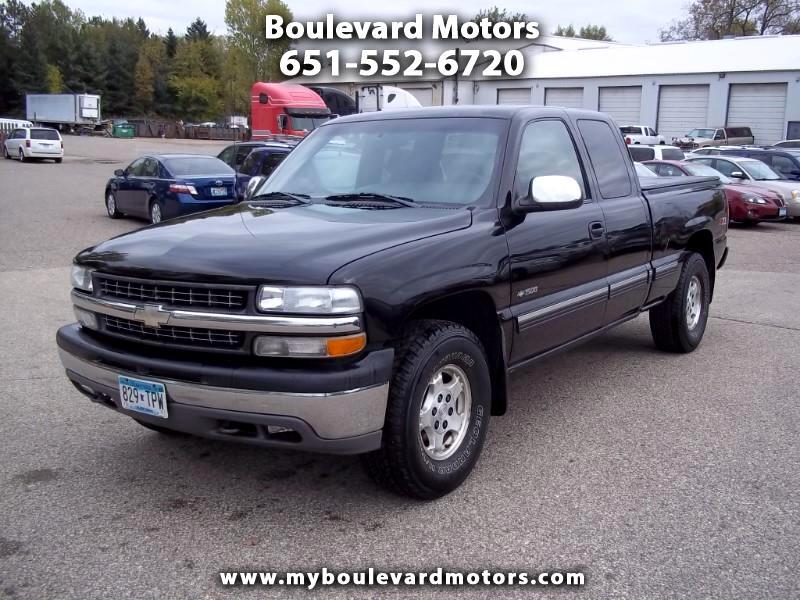 2001 Chevrolet Silverado 1500 Ext. Cab Short Bed 4WD