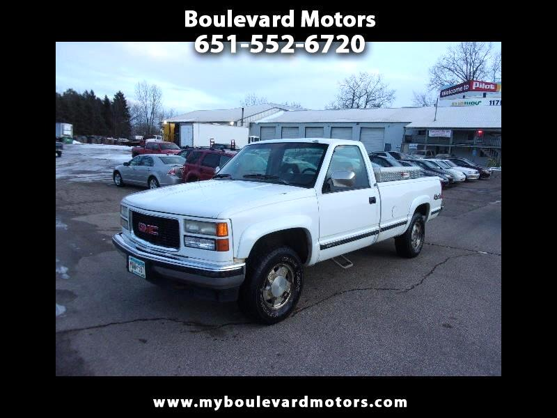 GMC Sierra C/K 1500 Reg. Cab 8-ft. Bed 4WD 1994