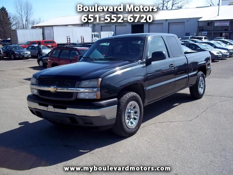 Chevrolet Silverado 1500 Work Truck Ext. Cab Short Bed 4WD 2005