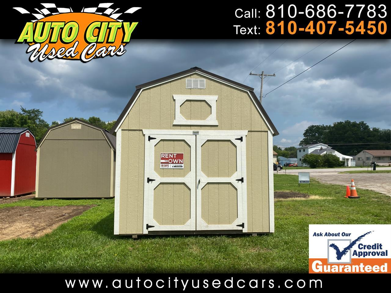 Old Hickory Buildings Lofted Barn  2020
