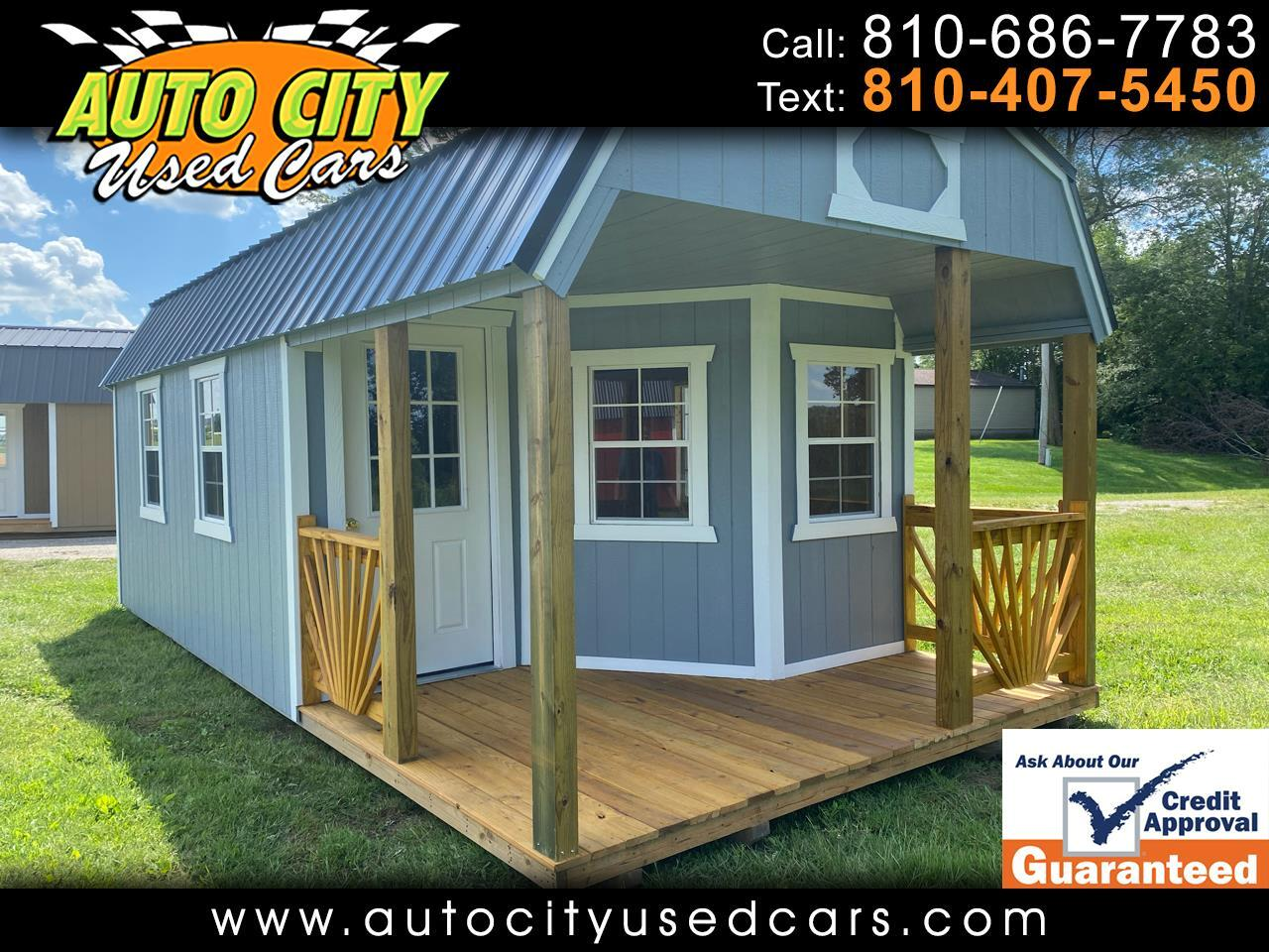 Old Hickory Buildings Deluxe Playhouse  2021