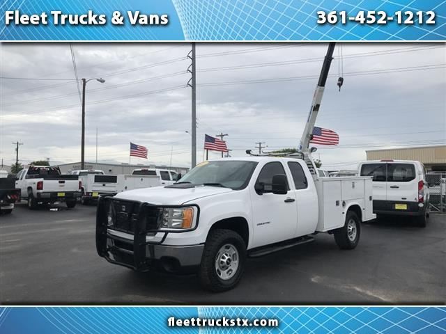 "2011 GMC Sierra 2500HD 4WD Ext Cab 158.2"" Work Truck"