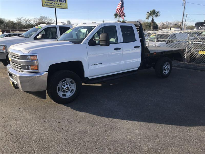 2015 Chevrolet Silverado 2500HD 2WD Double Cab 158.1