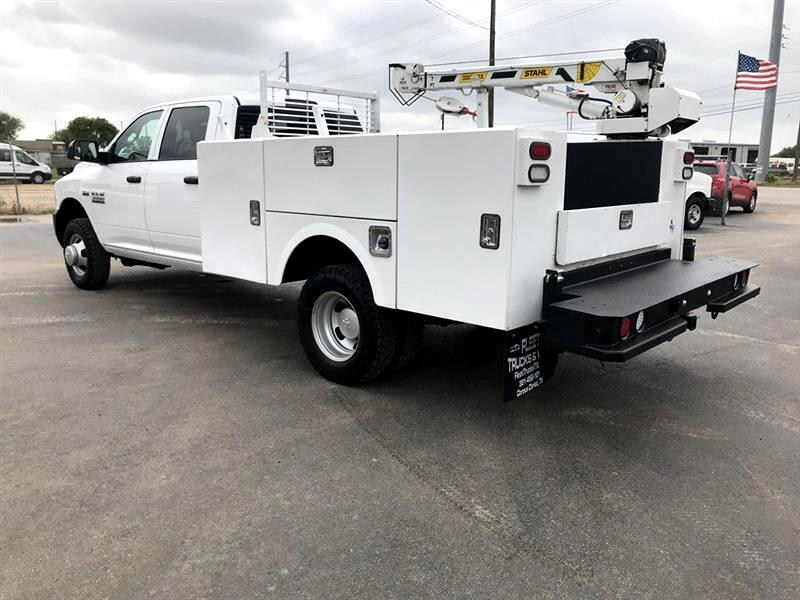 Used 2017 Ram 3500 Chassis Cab Tradesman 4wd Crew Cab 60