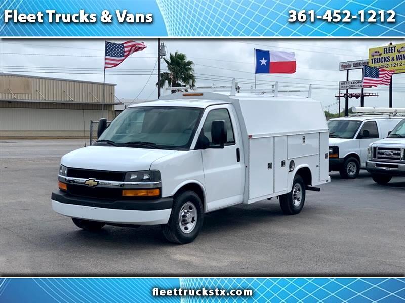 "Chevrolet Express Commercial Cutaway RWD 3500 139"" WB Work Van 2012"