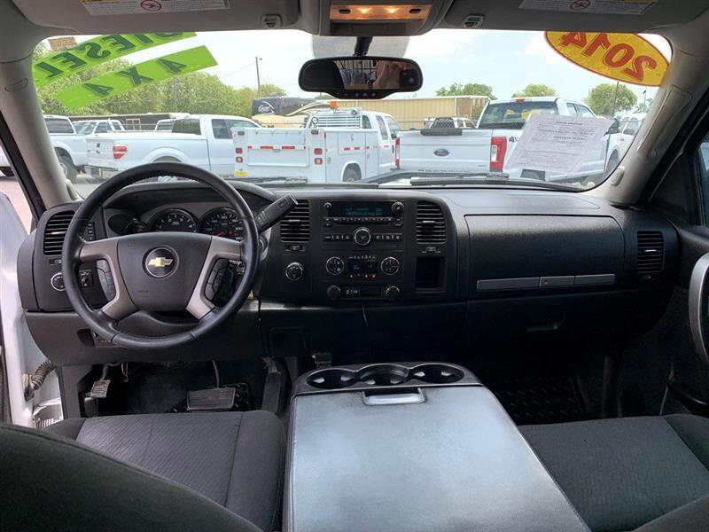 2014 Chevrolet Silverado 2500HD 4WD Crew Cab 167.7