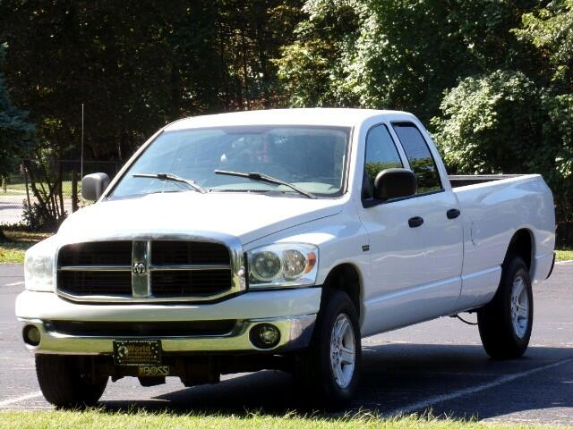 Dodge Ram 1500 SLT Quad Cab Long Bed 4WD 2008