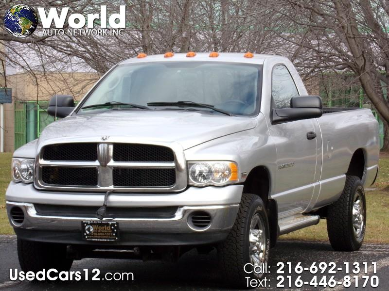 2004 Dodge Ram 2500 SLT  Reg Cab 2500 HD with Snow Plow 5.7 Hemi Engin