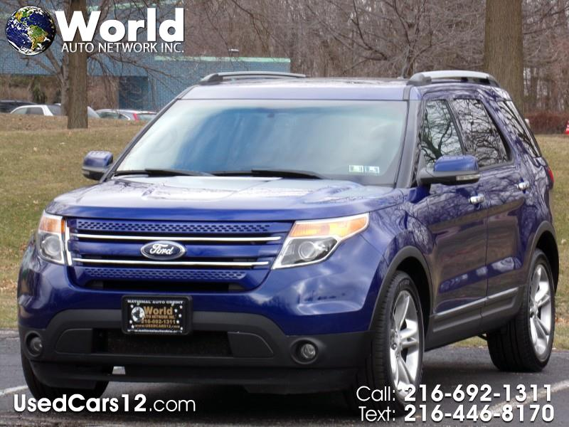 2013 Ford Explorer Limited FWD