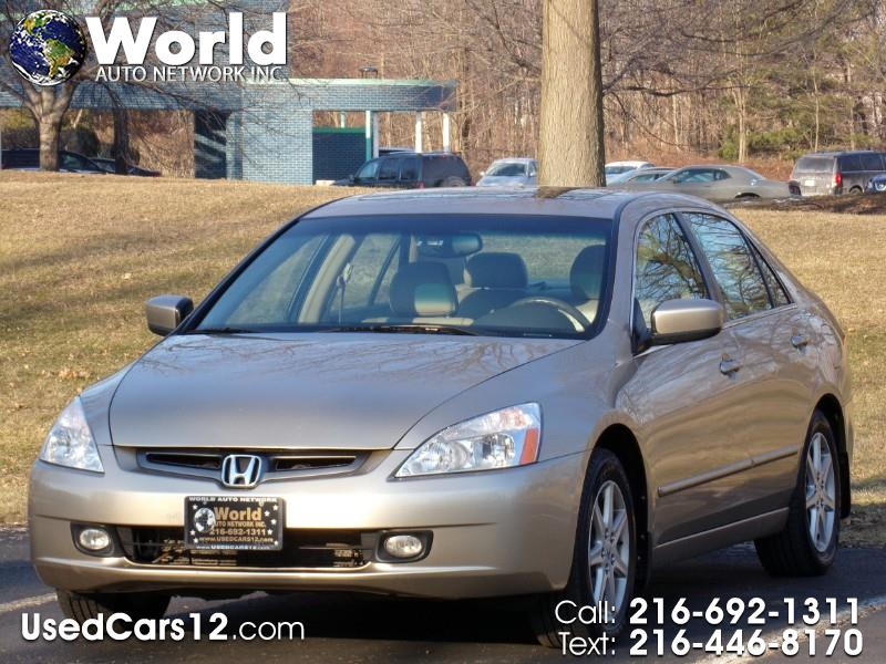 2004 Honda Accord EX V-6 Sedan AT with Navigation System and XM Radi