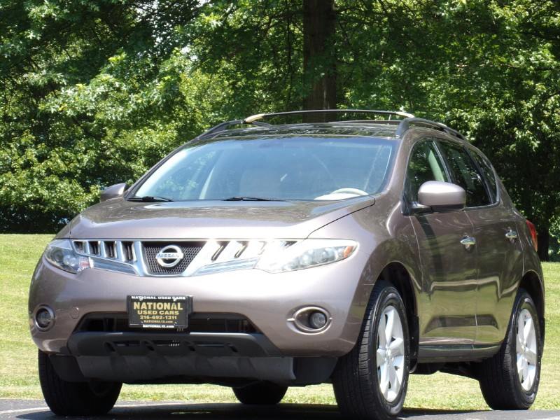 2009 Nissan Murano SL 4WD Heated Leather Seats & Dual Power Sunroof P