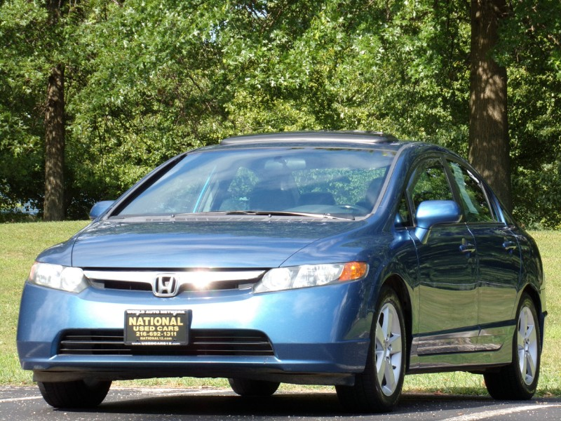 2008 Honda Civic 2008 Honda Civic EX-L Sedan AT with Navigation