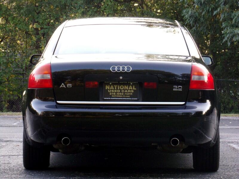 Audi A6 3.0 with Tiptronic 2003