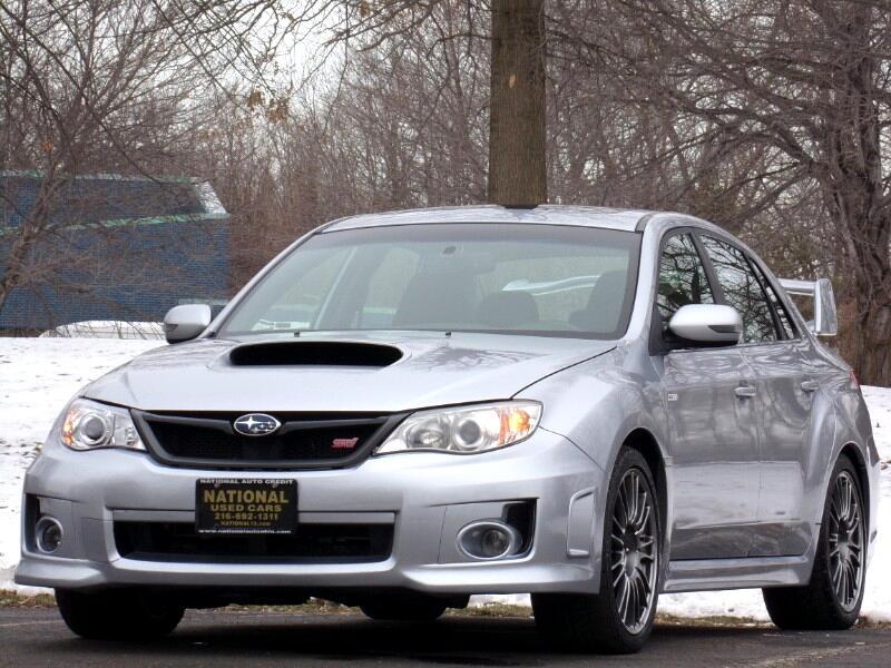 Subaru Impreza WRX STI 4-Door 2012