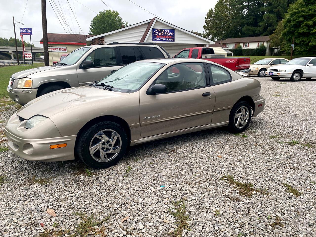 Pontiac Sunfire SE coupe 2002