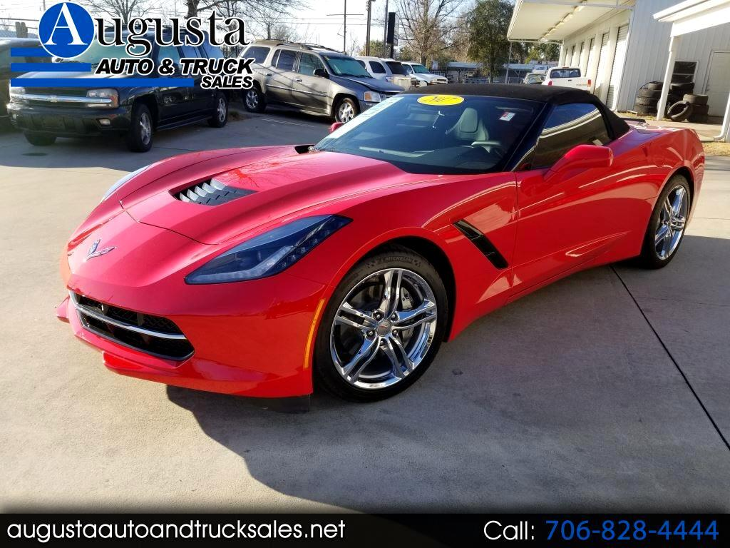 2017 Chevrolet Corvette 1LT Convertible