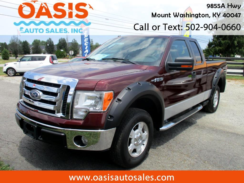 "2009 Ford F-150 4WD SuperCab 133"" XLT"