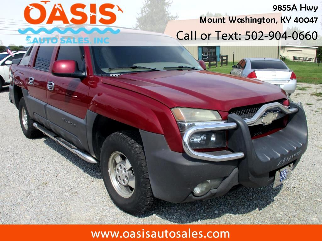 """2004 Chevrolet Avalanche 1500 5dr Crew Cab 130"""" WB 4WD"""