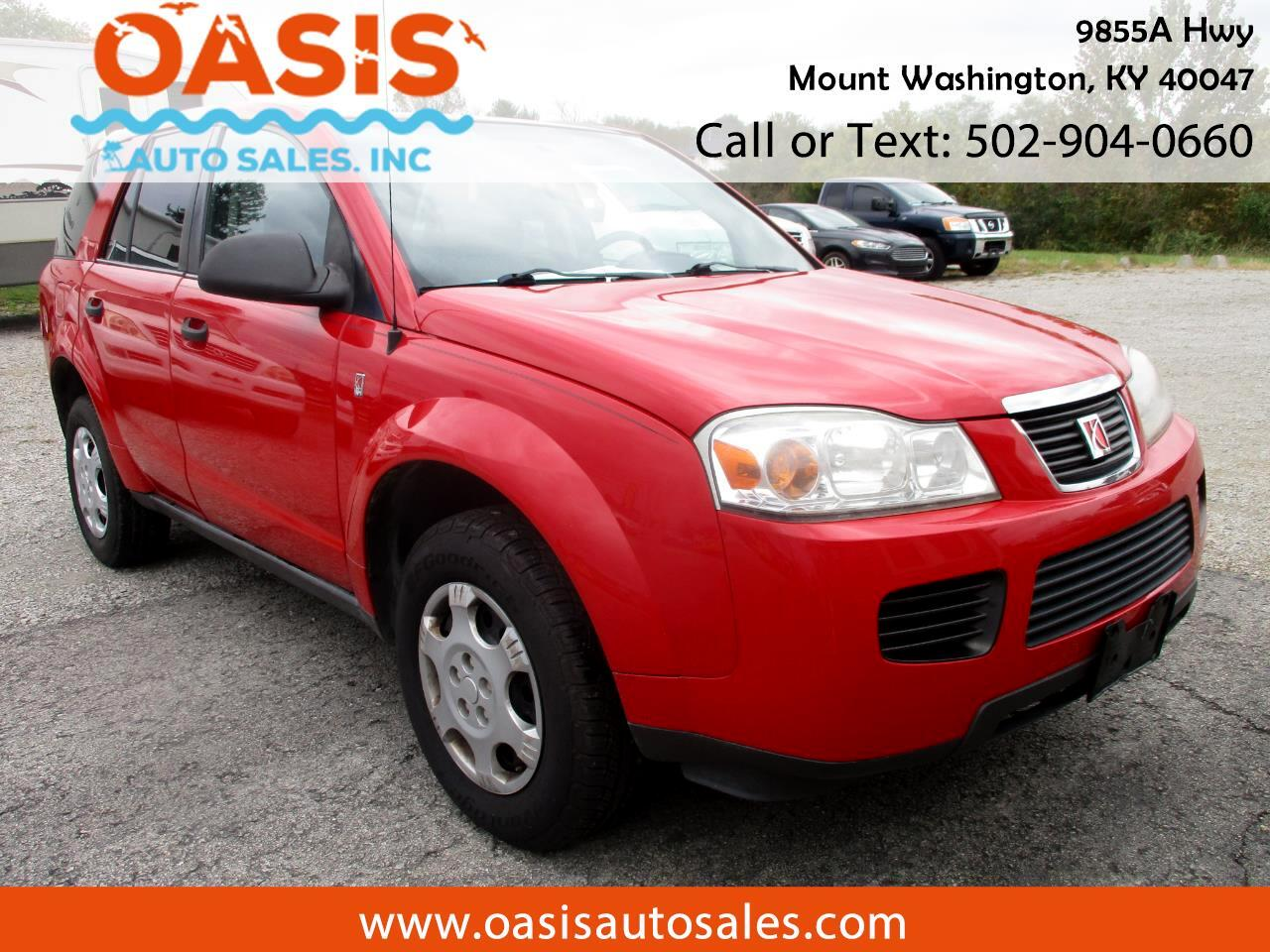 2007 Saturn VUE FWD 4dr I4 Manual