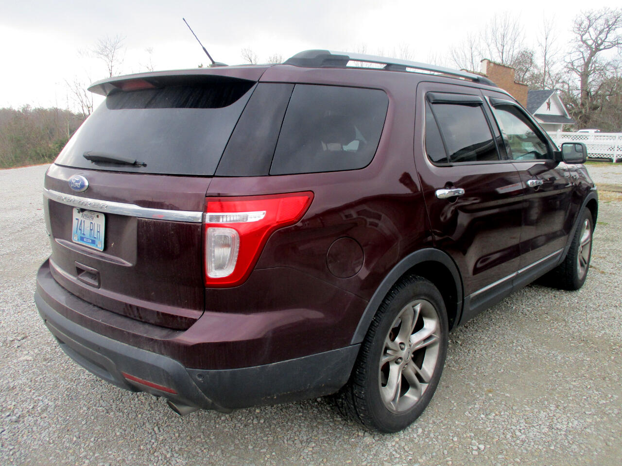 Used 2011 Ford Explorer Fwd 4dr Limited For Sale In Mount