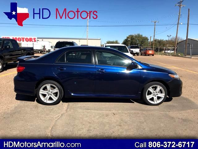 2013 Toyota Corolla S 5-Speed MT
