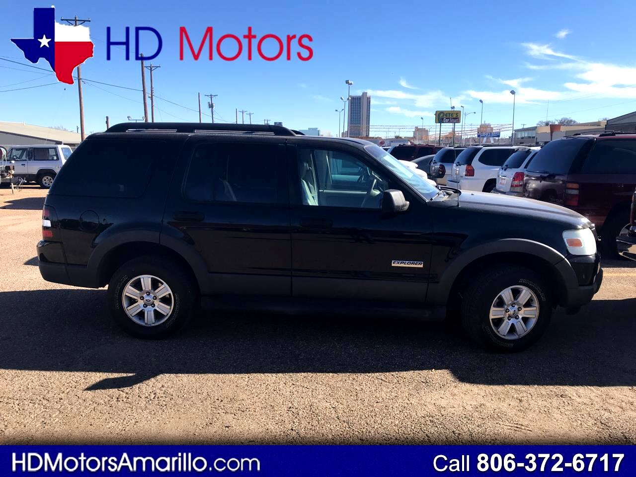 buy here pay here 2006 ford explorer 4dr 114 wb 4 0l xlt 4wd for sale in amarillo tx 79101 h d. Black Bedroom Furniture Sets. Home Design Ideas