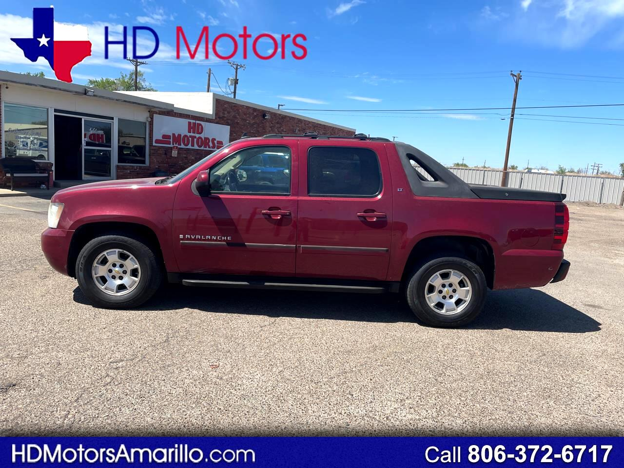 "Chevrolet Avalanche 4WD Crew Cab 130"" LT w/2LT 2007"