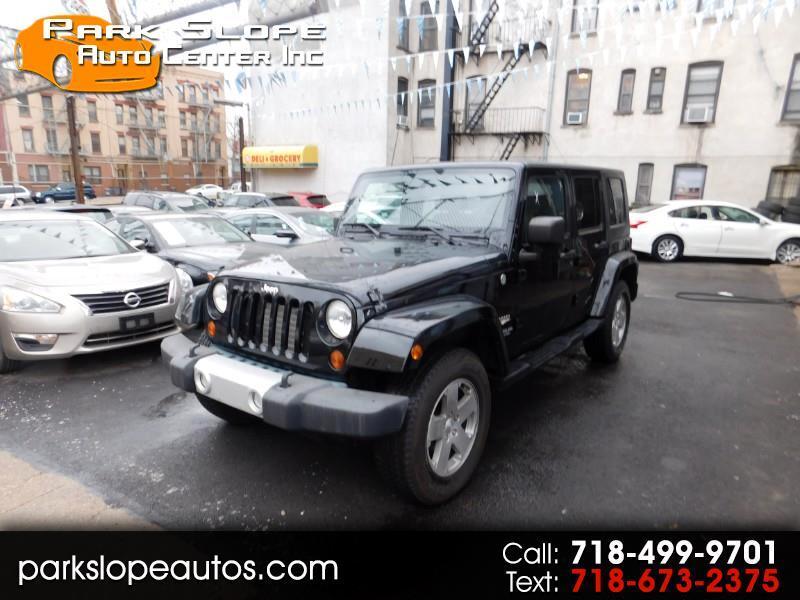 2010 Jeep Wrangler Unlimited Sahara 4WD
