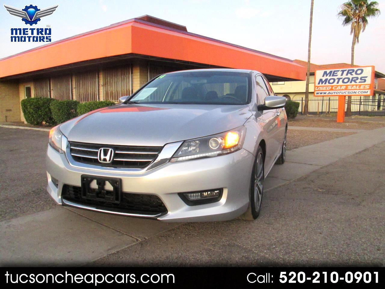Honda Accord Sport Sedan CVT 2014