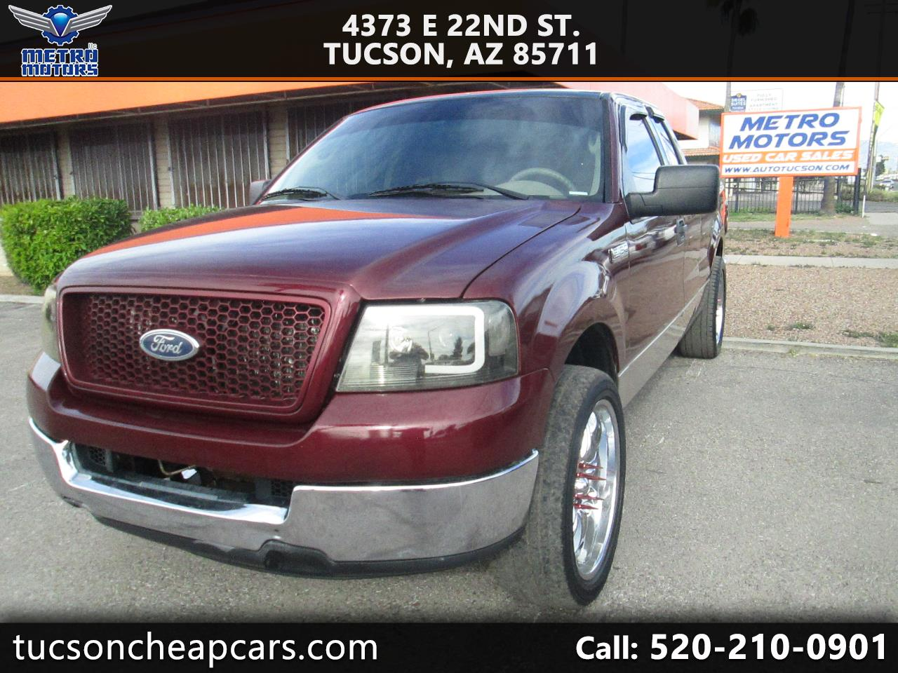 Ford F-150 XLT SuperCab 5.5-ft Box 2WD 2004
