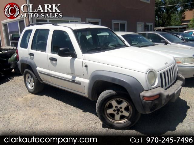 2002 Jeep Liberty 4dr Sport