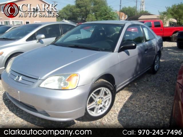 2001 Honda Civic 2dr Cpe LX Auto