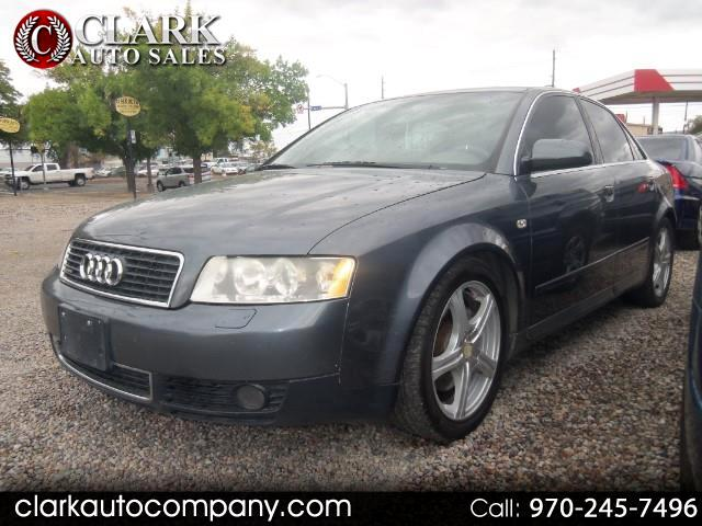 Used 2003 Audi A4 for Sale in Grand Junction, CO 81501 Clark Auto Company