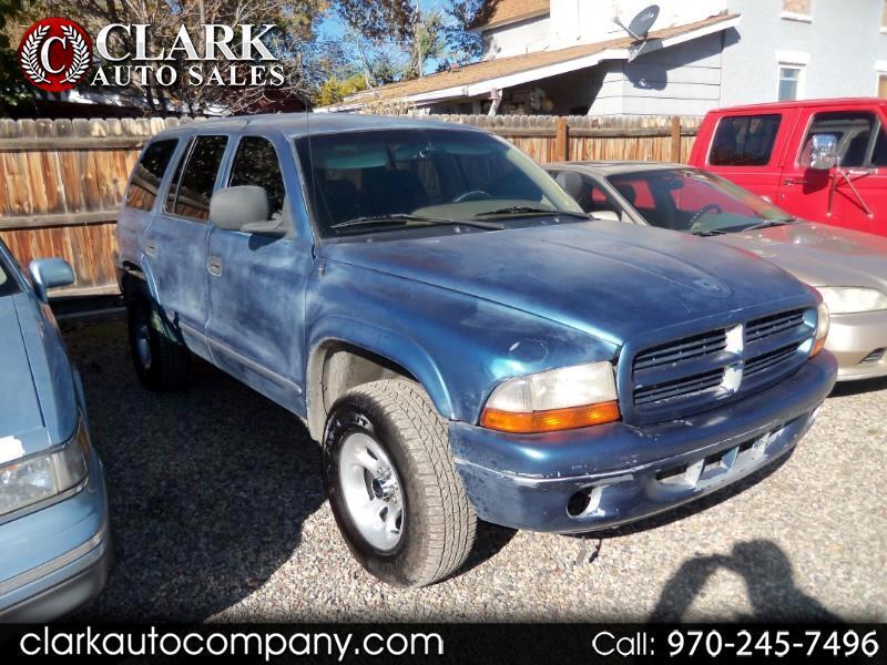 Used 1999 Dodge Durango for Sale in Grand Junction, CO 81501 Clark Auto Company