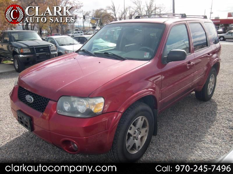 "2005 Ford Escape 4dr 103"" WB 3.0L Limited 4WD"