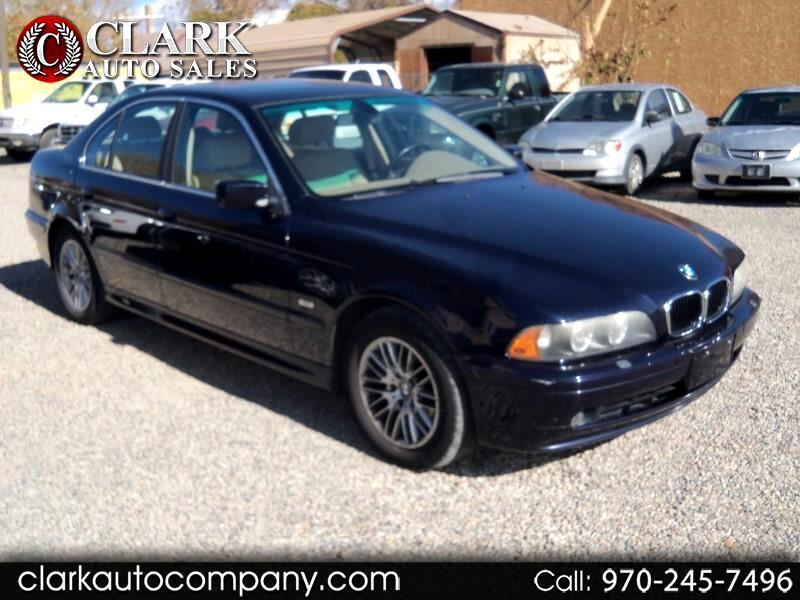 2003 BMW 5 Series 530iA 4dr Sdn 5-Spd Auto