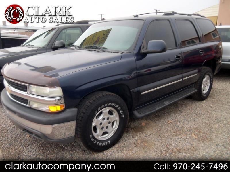 Used 2004 Chevrolet Tahoe for Sale in Grand Junction, CO 81501 Clark Auto Company