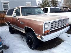 1983 Dodge Ram Charger