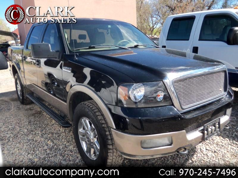 "2005 Ford F-150 SuperCrew 139"" King Ranch 4WD"