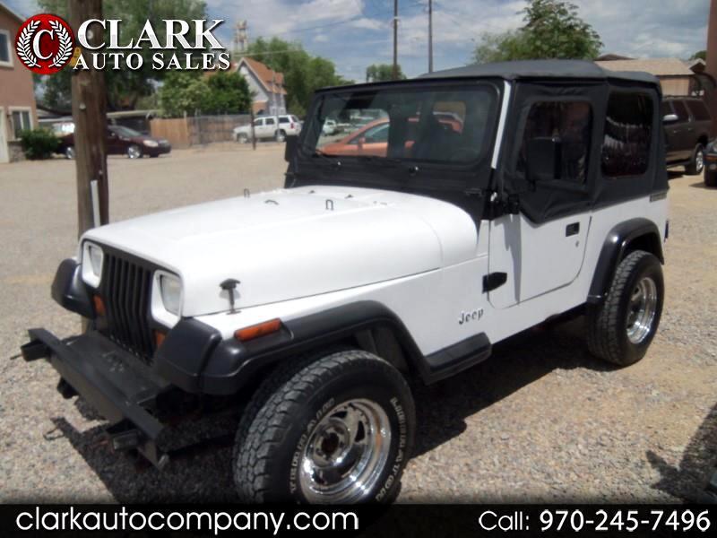 1990 Jeep Wrangler 2dr