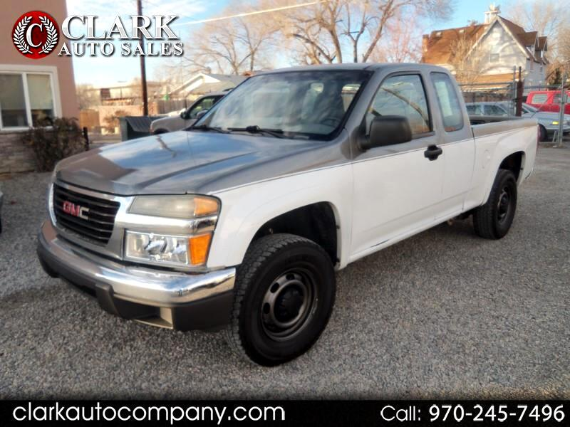 "2007 GMC Canyon 4WD Ext Cab 125.9"" Work Truck"