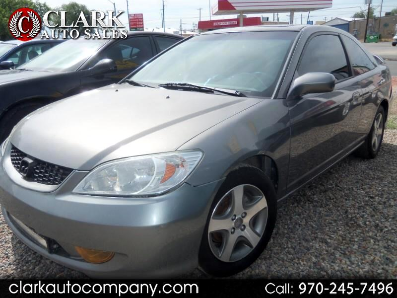 2005 Honda Civic Cpe EX MT